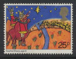 Great Britain SG 1174 Used    Christmas 1981  SC# 964