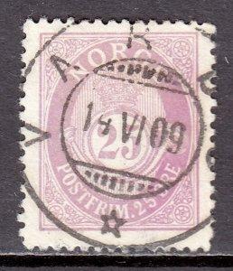 Norway - Scott #54 - Used - SCV $4.00