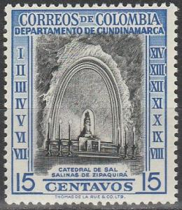 Colombia #653  MNH (S9572)