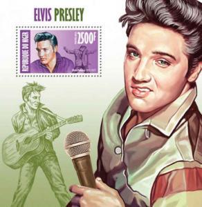 Niger - Elvis Presley - Souvenir Stamp - 14A-185
