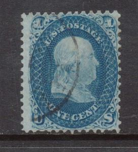 USA #63b Used **With Certificate**