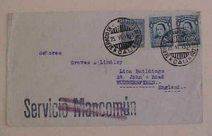 COLOMBIA  SCADTA LOCAL POST 1931 CALI B/S LONDON