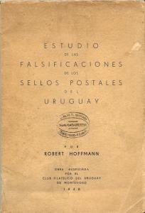 Uruguay stamp varieties catalogue by Hoffmann 1948 book in CD