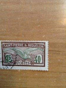 St Pierre & Miquelon SC 95 used