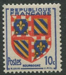 France - Scott 616 - General Definitive Issue -1949 - MNH -10c Stamp