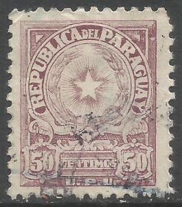 PARAGUAY 526 VFU R12-129-3