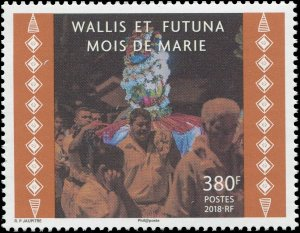 Wallis & Futuna Islands 2018 Sc 797 Month of Mary