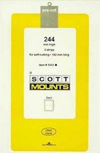 Scott/Prinz Souvenir Sheets & Small Panes Stamp Mount Size: 182x244 #1041 Black