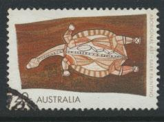 Australia SG 494a - Used  white flourescent paper