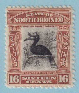 NORTH BORNEO 176  MINT HINGED  OG *  NO FAULTS EXTRA FINE !