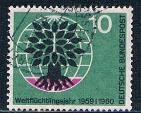 Germany 807 Used Uprooted Oak (GI0648P187)+