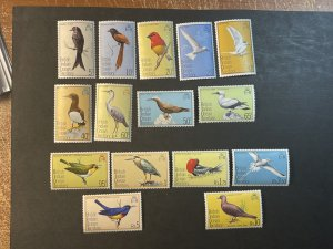 BR.INDIAN OCEAN TERRITORY # 63-77--MINT NEVER/HINGED----COMPLETE SET----1975