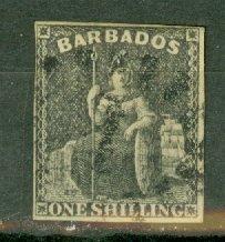 AA: Barbados 9 used CV $85