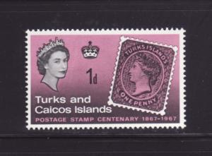 Turks and Caicos Islands 172 MNH Stamps on Stamps (D)