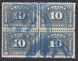 Canada (Revenue), van Dam FCD9, used block four