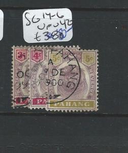 MALAYA PAHANG  (P0510B) TIGER SET   SG 14-6  VFU