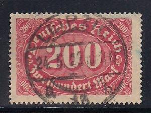 Germany Sc. # 157 Used Inflation Wmk. 125 - L63