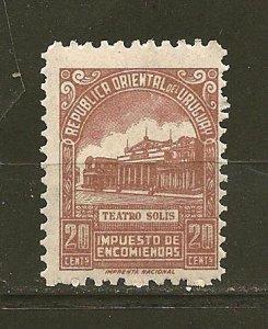 Uruguay Q86 Parcel Post MNH