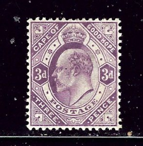 Cape of Good Hope 67 MH 1903 issue