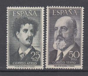 ESPAÑA 1955  Ed.1164/5**  Serie Completa  Fortuny y T.Quevedo  MNH