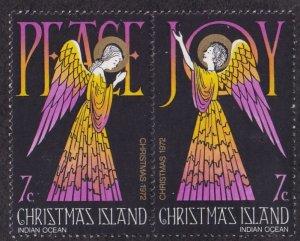 Christmas Island #57-58a Mint