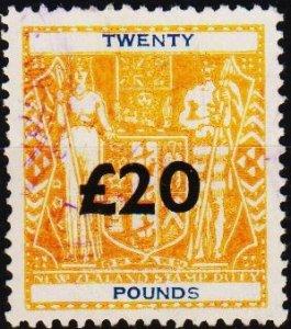 New Zealand. 1931 £20 Fine Used