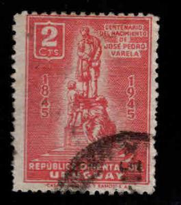 Uruguay Scott 536 used stamp