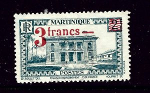 Martinique 192 Used 1945 surcharge issue