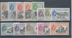 Sierra Leone 195-207 LH