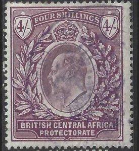 British Central Africa 1903-1904 SC 66 Used SCV$ 105.00