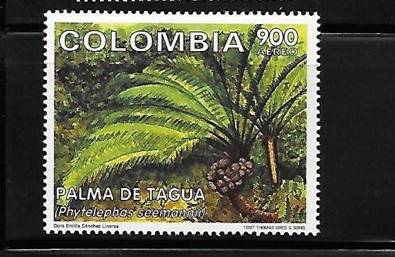 Colombia 1997 Plant tree MNH A380