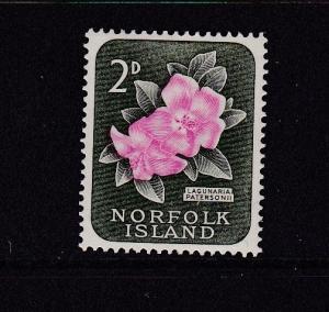 Norfolk Island 1960 Definitives 2d Used