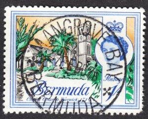 Bermuda Scott 183 F to VF used.  Splendid & scarce SON Mangrove Bay cds. Lot #B.