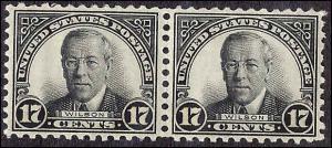 697 Mint,OG,NH... Pair... SCV $14.50