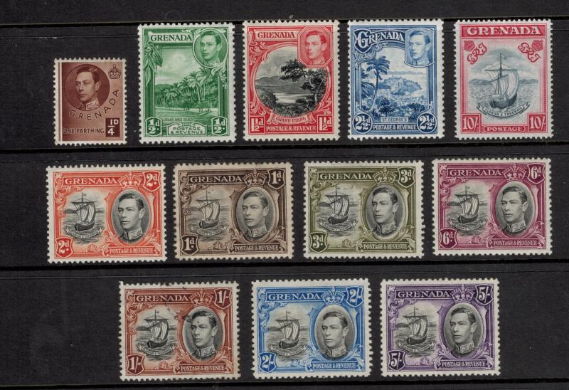 Grenada Stamps Scott #131 To 142, One Used, Remainder Mint, Mixed Condition -...