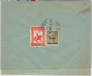 58322  -  Portuguese INDIA   - POSTAL HISTORY: COVER to BELGIUM  - 1962