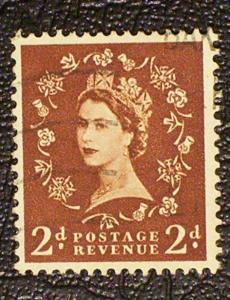 Great Britain Scott #295 used