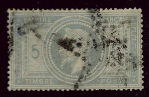 Rare France SC#37 Used F-VF 1 sh perf/Very Few Faults! SCV$800.00...Awesome!!