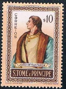 St Thomas and Prince person - pickastamp (SP19R304)