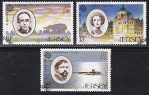 Jersey # 353-355, Performing Arts, Europa, Used,