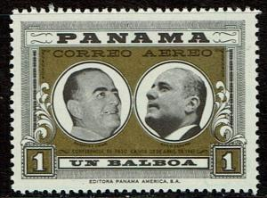 Panama C251 MNH - Presidents of Panama & Costa Rica (1961)