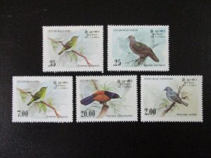 Sri Lanka #691-94 Mint Never Hinged (K7G1) WDWPhilatelic 2