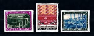 [90385] Afghanistan 1967 Industrial Development Carpet Designs Factory  MNH