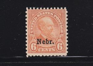675 F-VF mint  never hinged  with nice color cv $ 70 ! see pic !