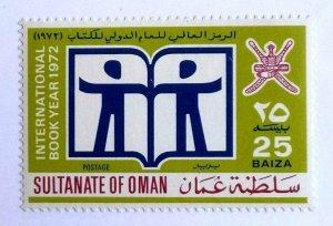"""Rare Oman 1972 Haute Cat Valeur """" Livre Année """" Tampon MNH Sg Listés Très Rare"""