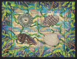 Namibia Shells MS 1998 MNH SG#MS799