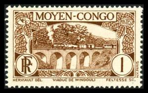 Middle Congo 65 Unused (MH)