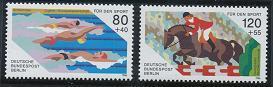 Berlin B232-B233 MNH (1986)