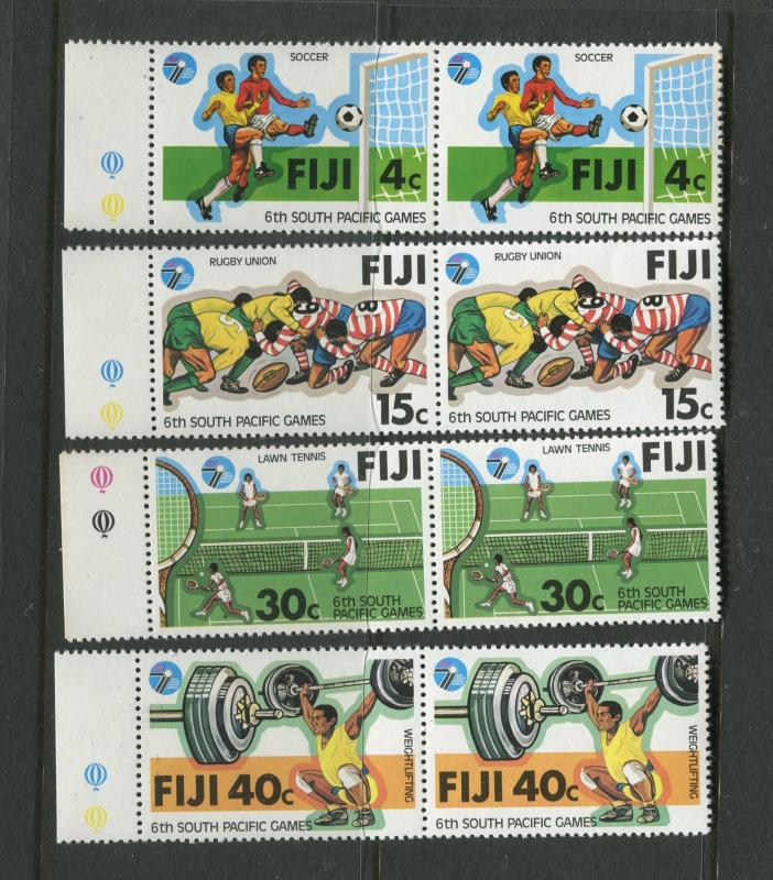Fiji - Scott 405-408 - General Issue 1979- MNH - 2 X Sets of 4 Stamps