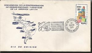 J) 1974 MEXICO, CONVENTION OF THE CONFEDERATION OF TOURIST ORGANIZATIONS OF LATI